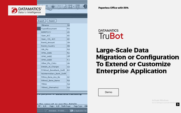 Demo for Large-Scale Data Migration Or Configuration