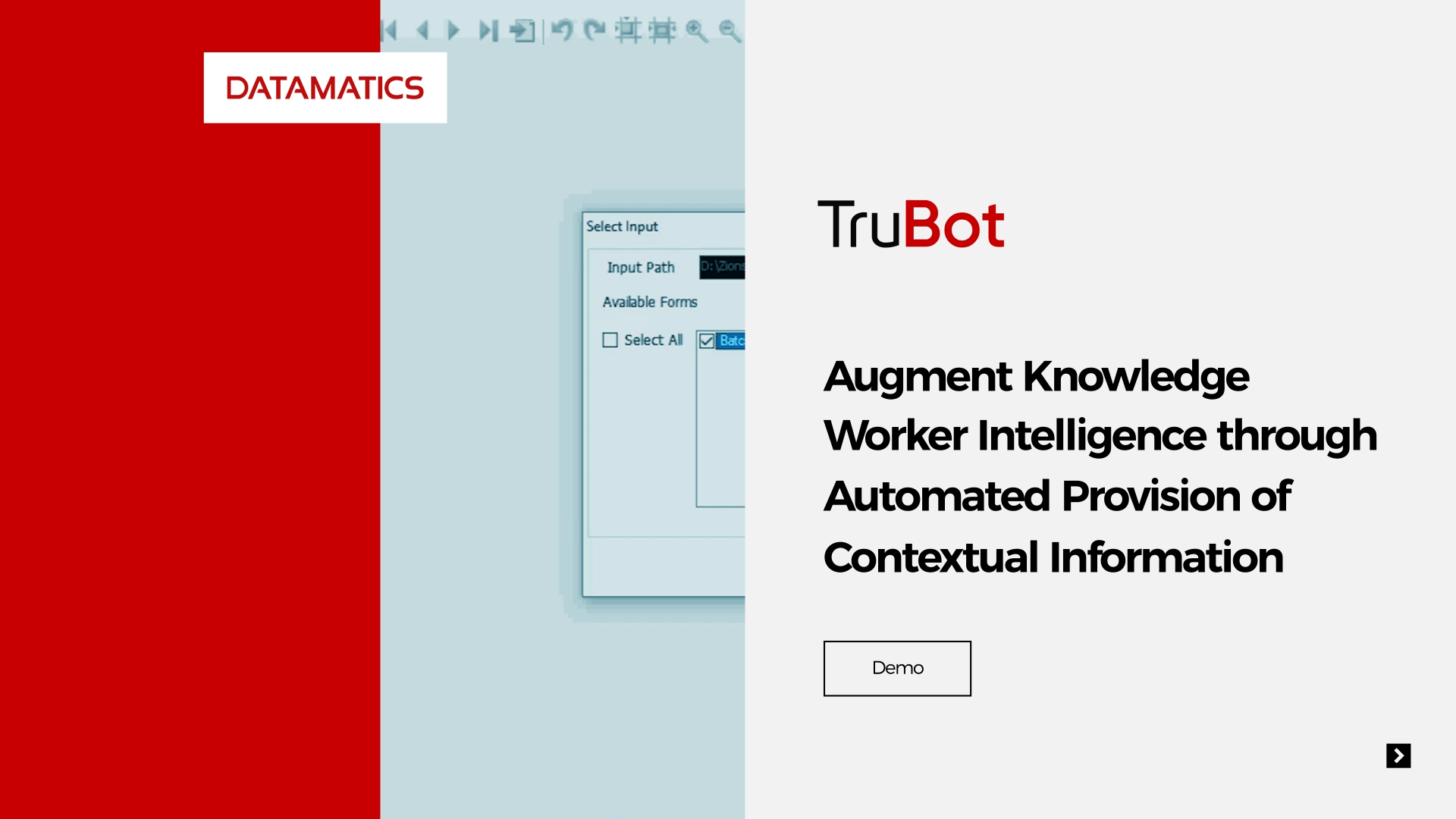 RPA assisted contextual information updation Demo